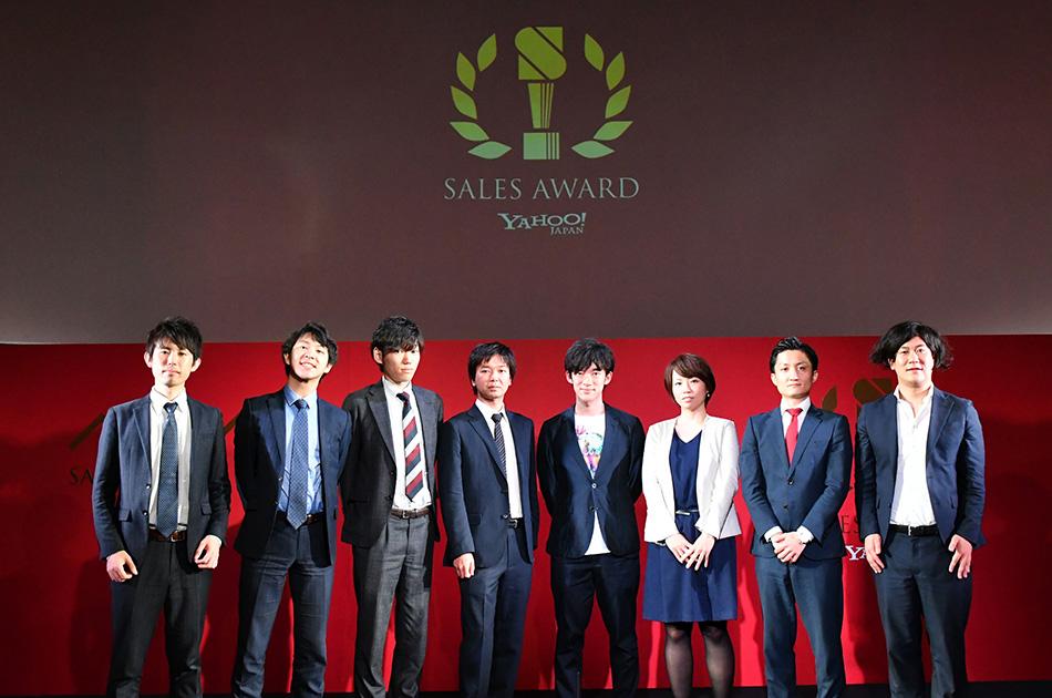 ヤフーグループの営業アワード「YSA(Yahoo Japan Corporation Group Sales Award)」ファイナリストとDaiGoさん