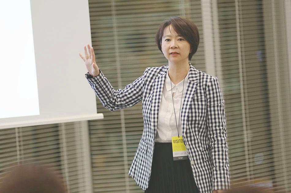 「ほぼ日」CFOの篠田さん