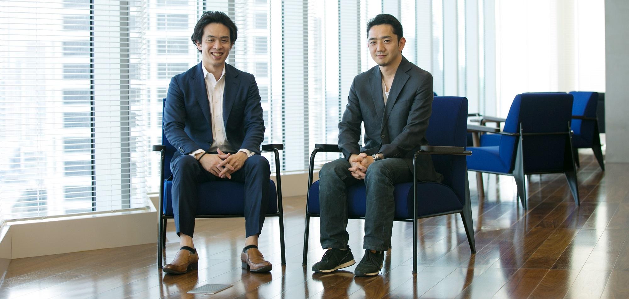 広瀬氏と小沼の写真