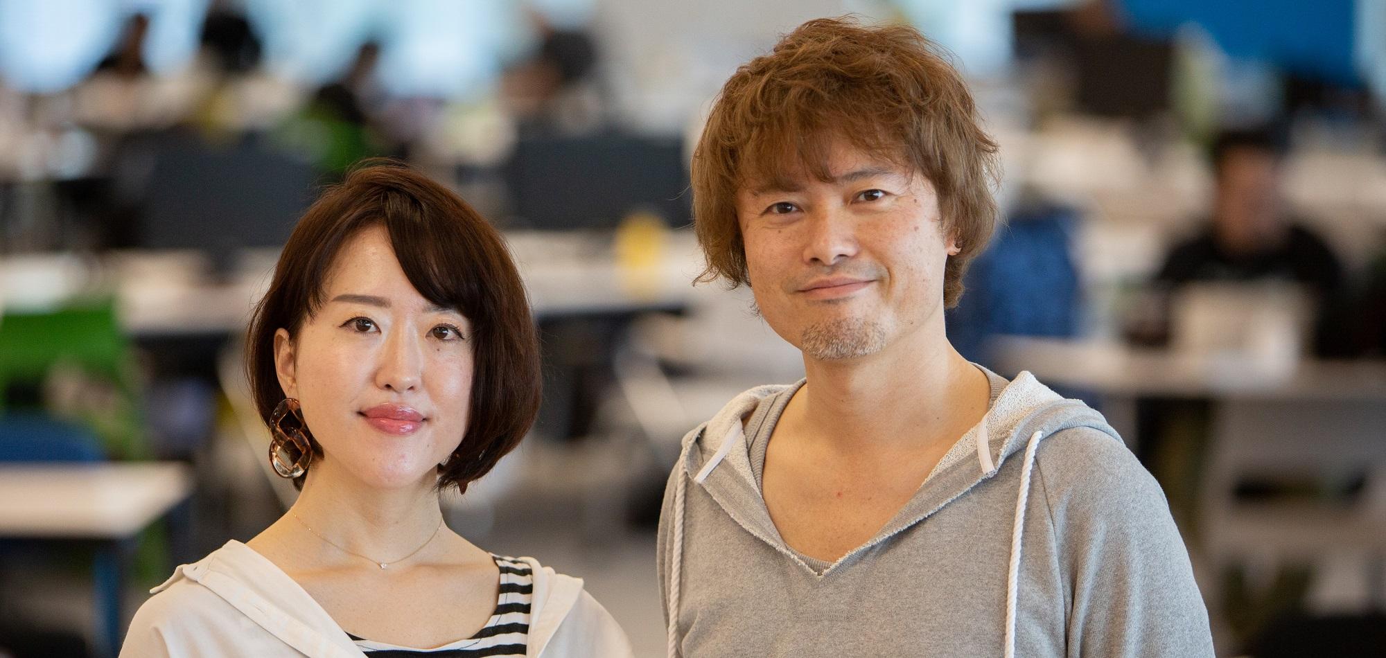 倉本と松浦の写真