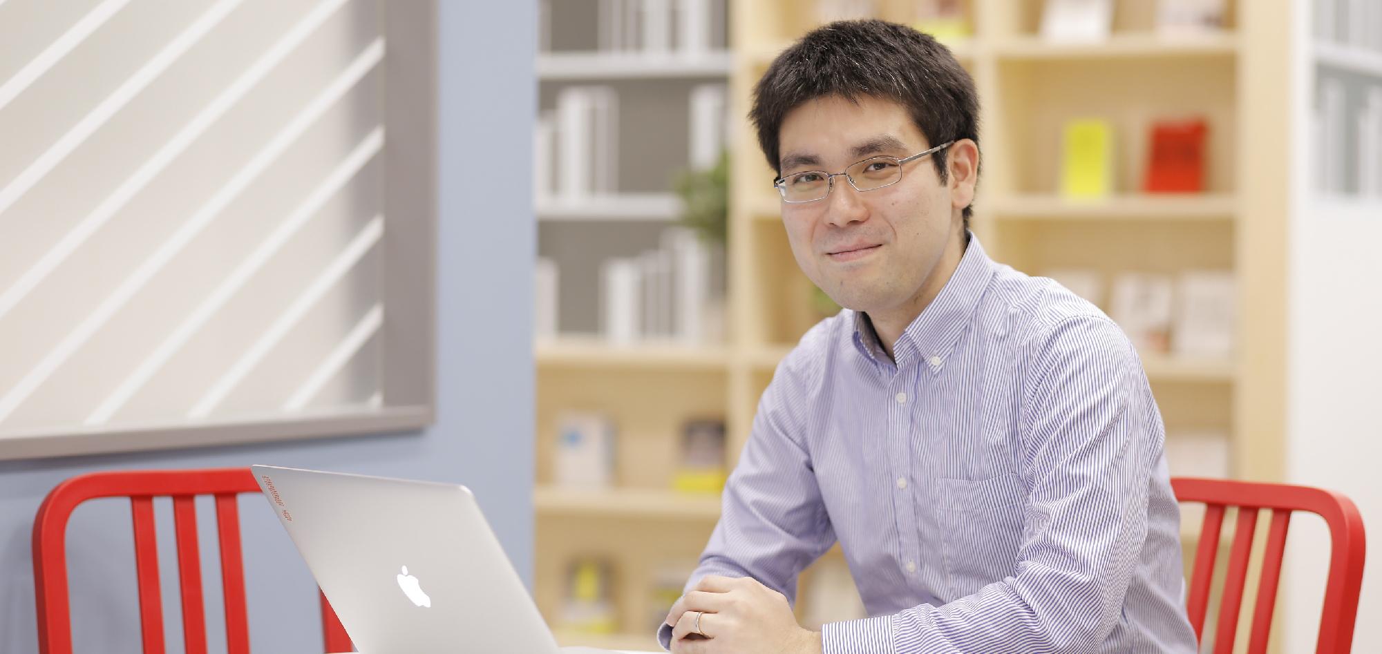 テクノロジーグループ データ&サイエンスソリューション統括本部 サイエンス本部  リードエンジニア 田頭幸浩の画像