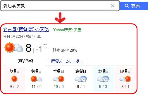 「大阪 天気」の検索結果