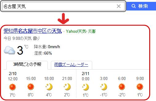 「大阪市中央区 天気」の検索結果