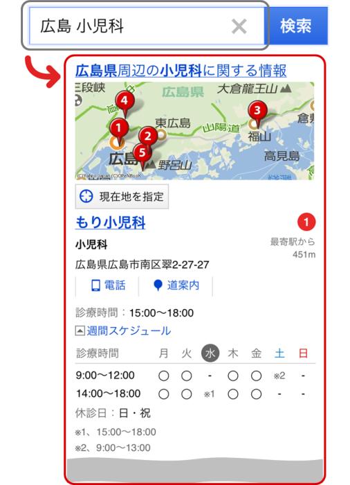 「広島 小児科」の検索結果